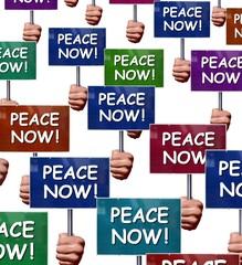 "Manifestation ""Peace now!"""