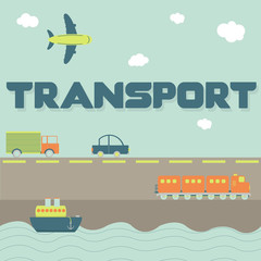 """Transport"" word and means of transportation"