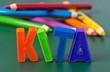 canvas print picture - KITA, Kindertagesstätte - Konzept