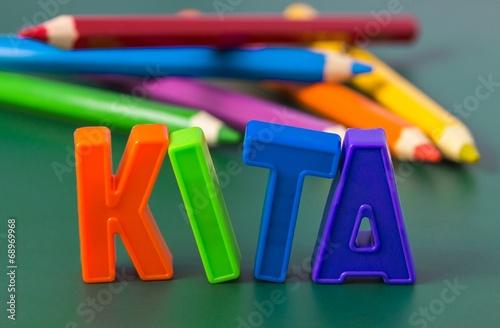 canvas print picture KITA, Kindertagesstätte - Konzept