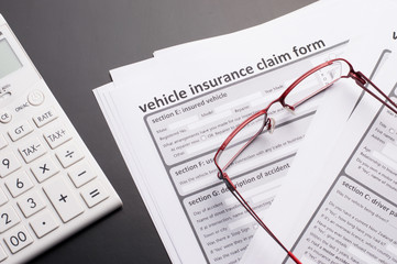 Automobile, Car Insurance Claim Form