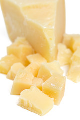 parmesan cheese cubes