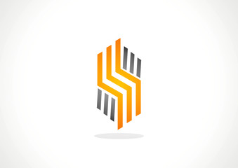 Abstract vector corporate icon