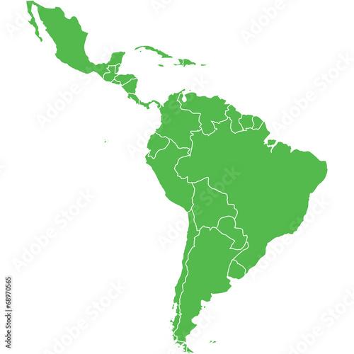 mappa america latina - 68970565