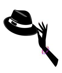 dance magic silhouette
