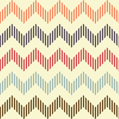 Seamless geometric wavy pattern