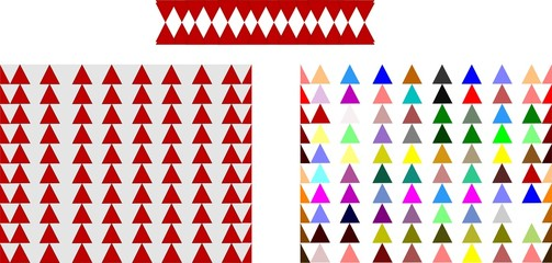 triangle patterns background