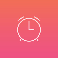 Alarm - Finely crafted line icons