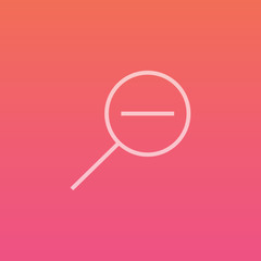 Zoom out - Finely crafted line icons