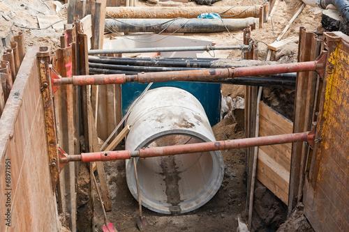 Umfassende Sanierungsarbeiten an der Kanalisation - 68971951