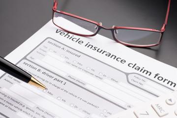 Automobile, Car Insurance Claim Form