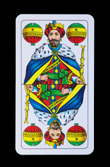Könige im Spiel - Schellen König