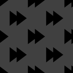 multimedia control web icon. flat design. Seamless pattern.