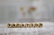 canvas print picture - vacation