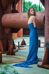 girl in a blue2
