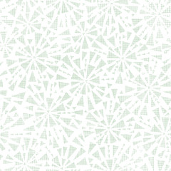 Abstract textile triangles bursts seamless pattern background
