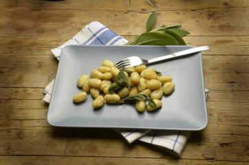 Gnocchi al burro e salvia Cucina italiana اكسبو ميلانو 2015