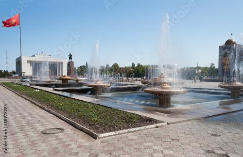 Fountain on Ala-Too Square - 68978985