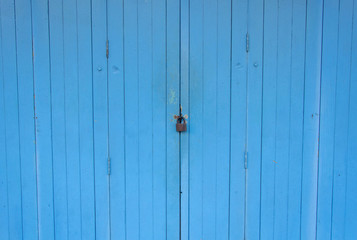 master key on blue door