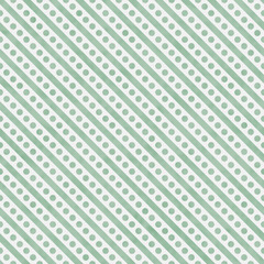 Light Green and White Small Polka Dots and Stripes Pattern Repea