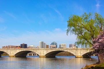 Arlington Memorial Bridge, Washington DC, USA.