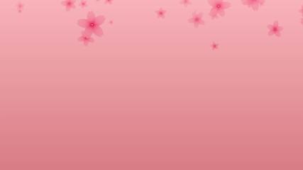 舞い落ちる桜の花びら