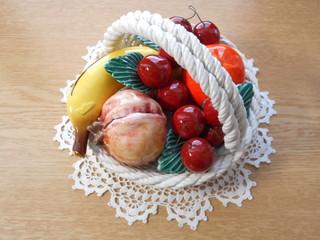 瀬戸物の果物