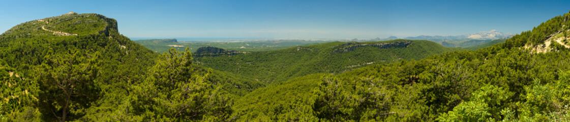 Taurus Mountains. Turkey. Panorama.