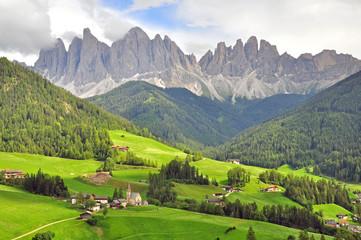 Funes valley, Italy