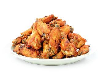 Fried Chicken Wings with Curry Sauce