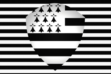 Bretagne - Breizh -  Emblème - Ecusson