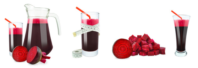 beetroot juice and meter