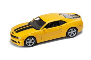New yellow mode car