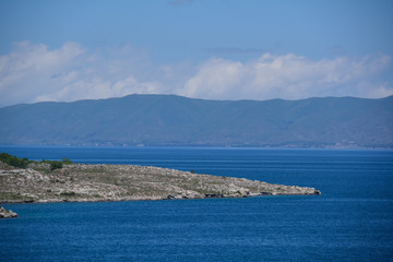 sevan and mountains