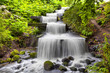 Cascade waterfall in Planten un Blomen park in Hamburg - 68984534