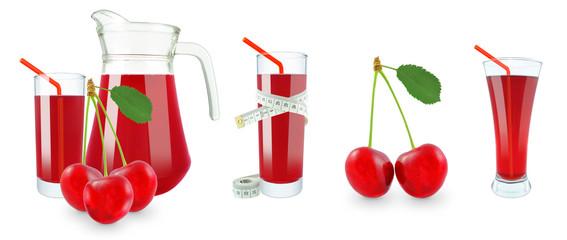 cherry juice and meter