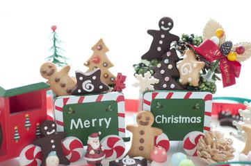 クリスマス クリスマストレイン クッキー