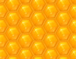 Honeycomb seamless vector background