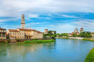 View on Adige river