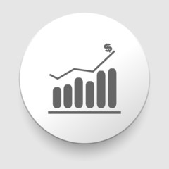 Business Infographic icon - Vector Graphic