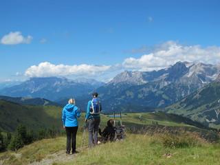 wandertour am schneeberg