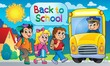 Image with school bus topic 5