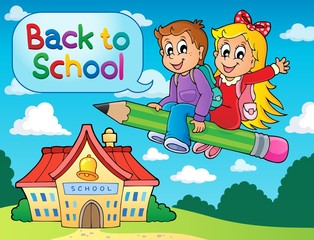School kids theme image 6