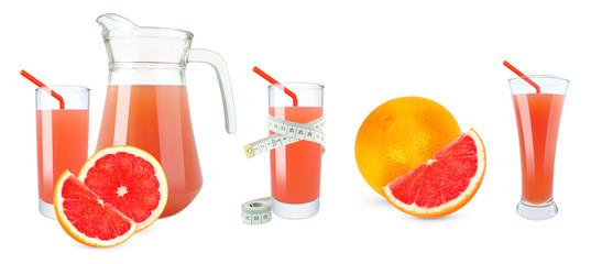 Grapefruit juice and meter