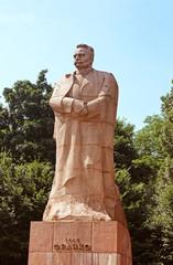 Monument of Ivan Franko (1856-1916), Ukrainian poet, writer