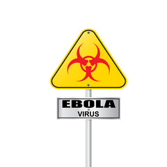 Ebola virus  sign vector