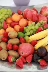 Obst, Jause, Obstkorb, Bio