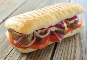 Beef steak sandwich