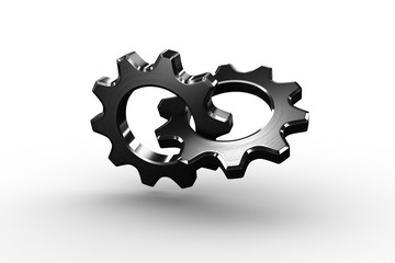 Linking chrome cog and wheel