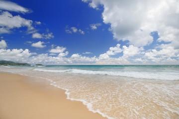 Long Beach at Phuket Thailand